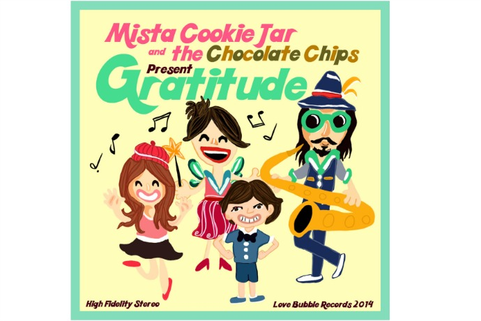 Gratitude by Mista Cookie Jar: Kids' music download of the week