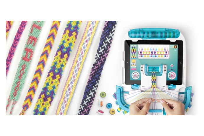 A friendship bracelet maker that brings them back with a really cool, high-tech twist.