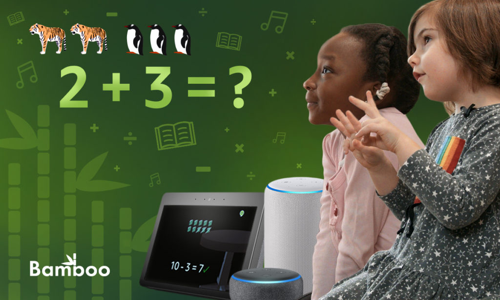 Bamboo Learning makes it easy to use your Alexa to teach kids math, english, reading and more | sponsor