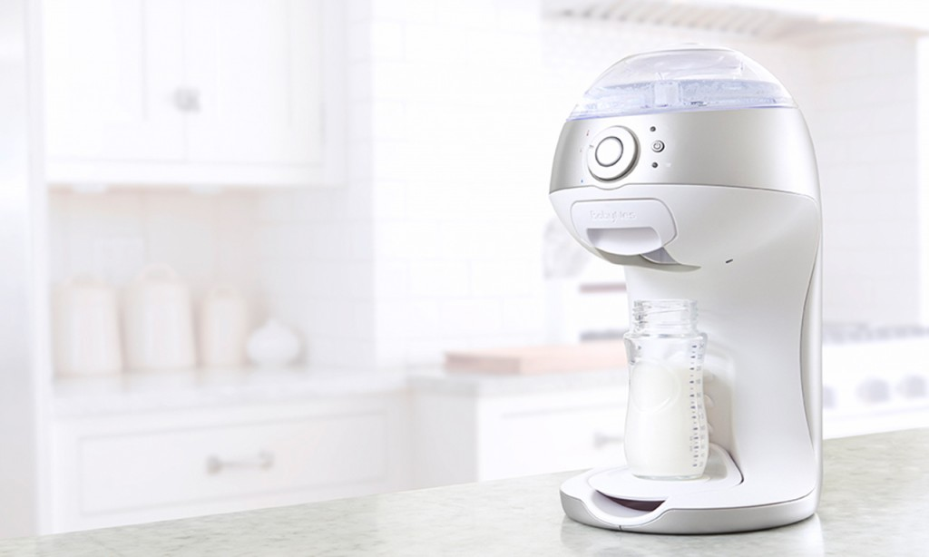 Cool tech for parents: Gerber BabyNes Formula Dispenser: Like a Keurig for baby formula with its own k-cups. Convenient, but what about all that waste?