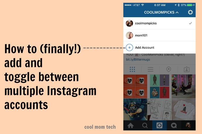 How to add and manage multiple Instagram accounts. Finally!