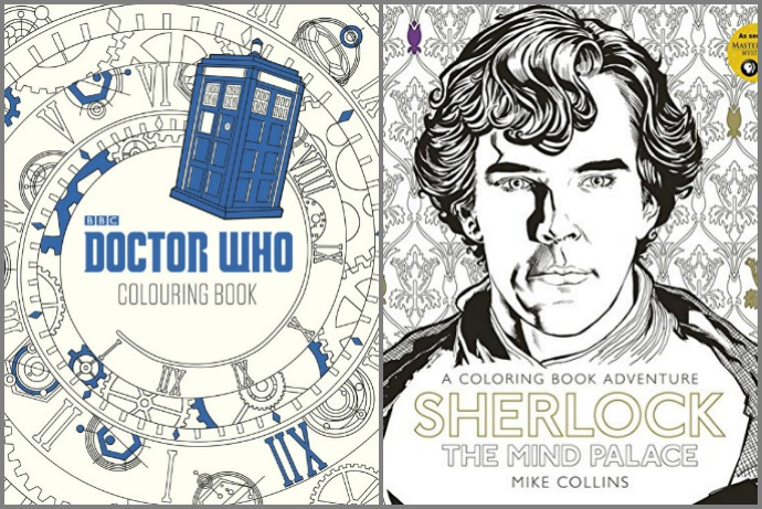 Weve Found 8 Geeky Coloring Books For Adults Fans Of Doctor Who