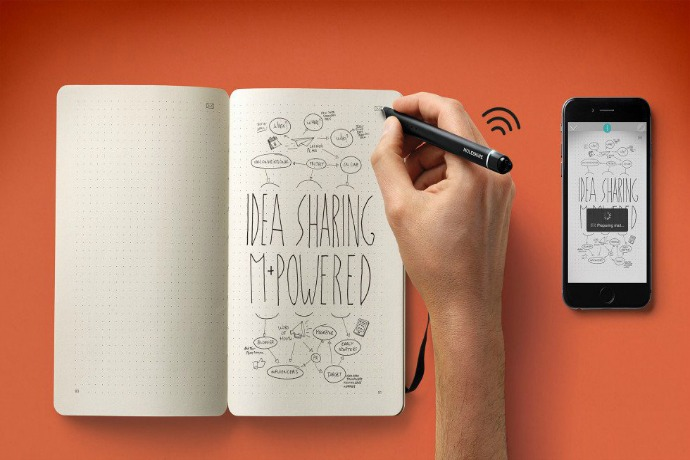 Digitize your notes and sketches with new Moleskine Smart Writing Set. No photos or scans required.