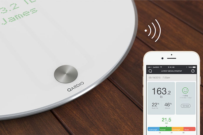 Qardio Base: the smart scale that actually makes dieting more successful