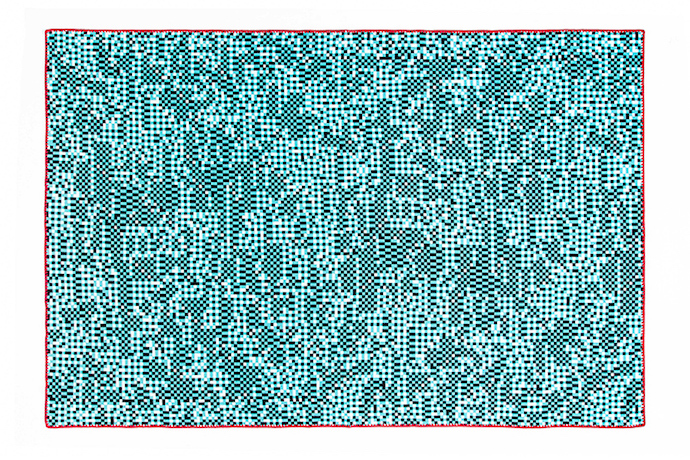 Tech meets home decor, in these cool bitmap blankets by Zuzunaga.