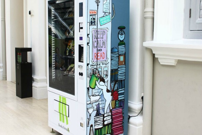 Web Coolness: A book vending machine, tech Father's Day gifts, and new emoji!