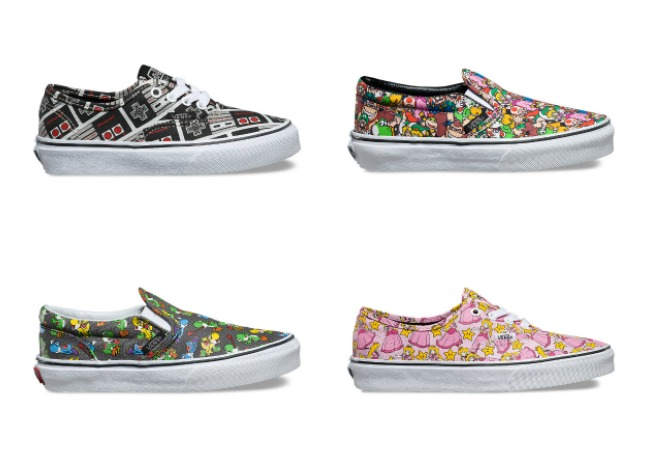 Nintendo Vans! Our inner gaming geek is freaking out.