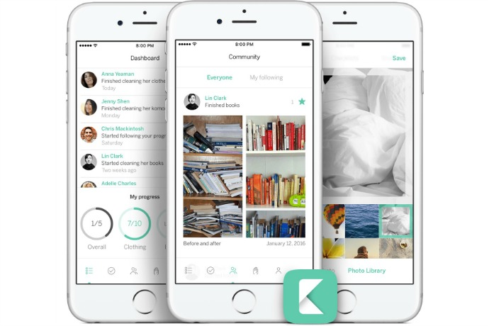KonMari App: Our cool free app of the week