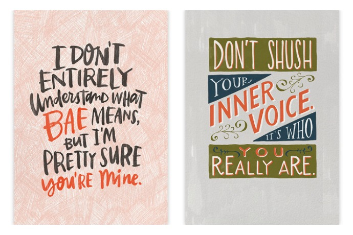 Emily McDowell's witty greeting cards go digital. Yay!