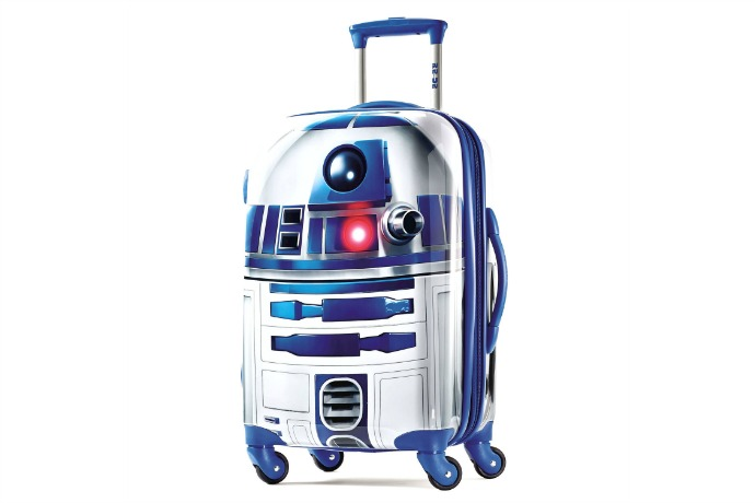 These are the droid suitcases you're looking for