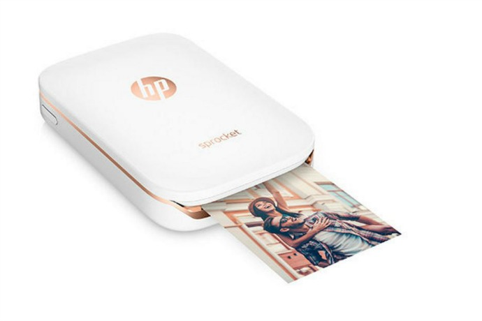 Printing from the palm of your hand with HP Sprocket