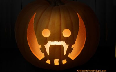 Nearly 100 of the coolest free geeky pumpkin carving templates for Halloween