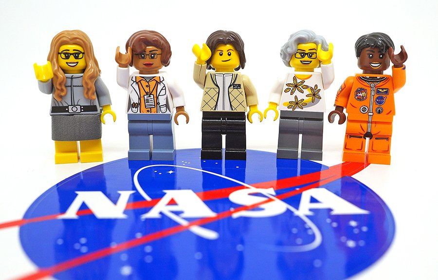 The Women of NASA LEGO set is coming! #Shero!