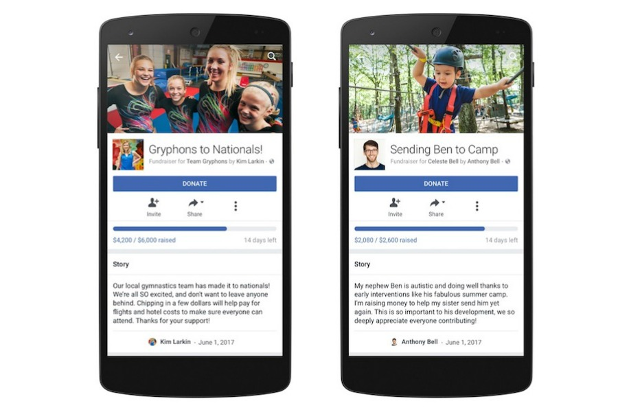 Facebook Fundraisers: Ask for donations to your cause, right in your News Feed