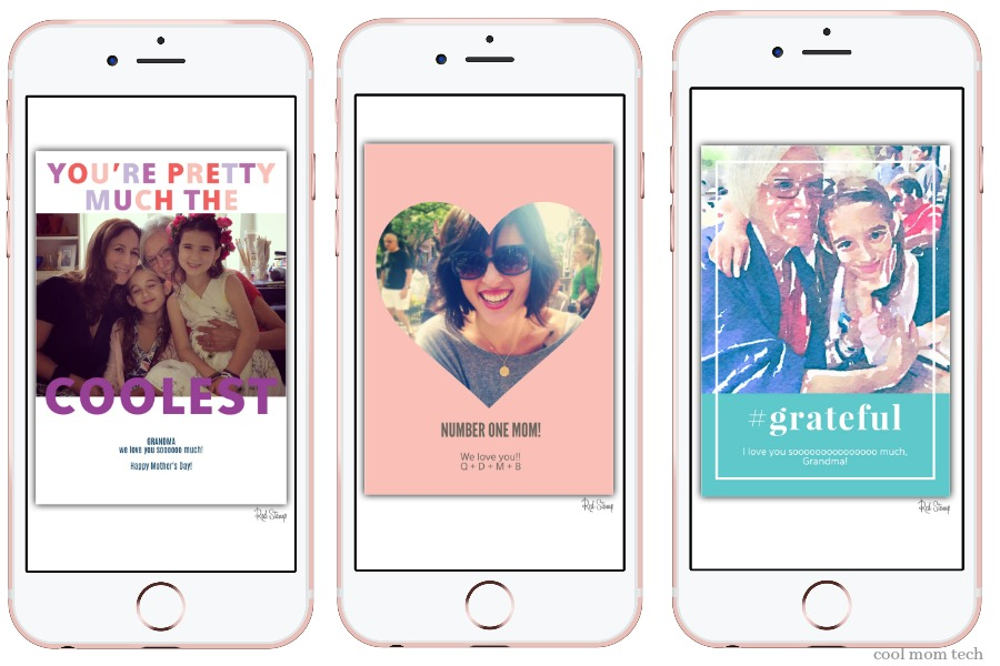 Why yes, you do need this app for free last minute Mother's Day ecards