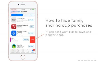 Tech trick: How to hide app purchases so your kids can't download through Family Sharing.