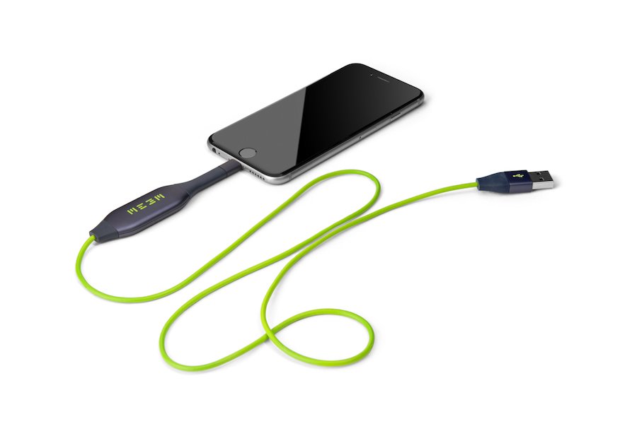 This charging device backs up your phone so you don't have to remember to do it.