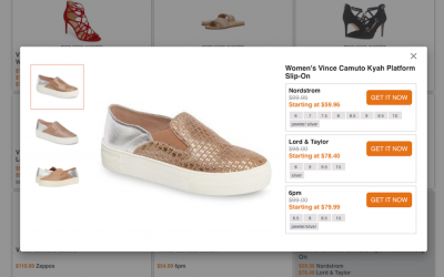 Our smart tech tip for finding designer shoes at a great price