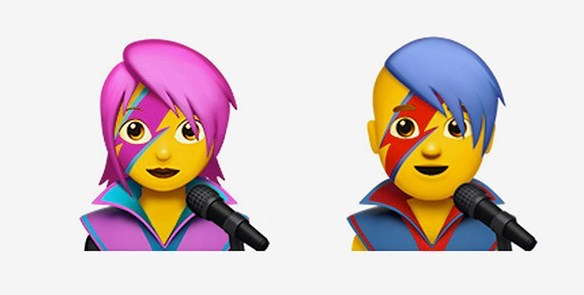 Emoji Movie: Update your iOS to get David Bowie emojis!