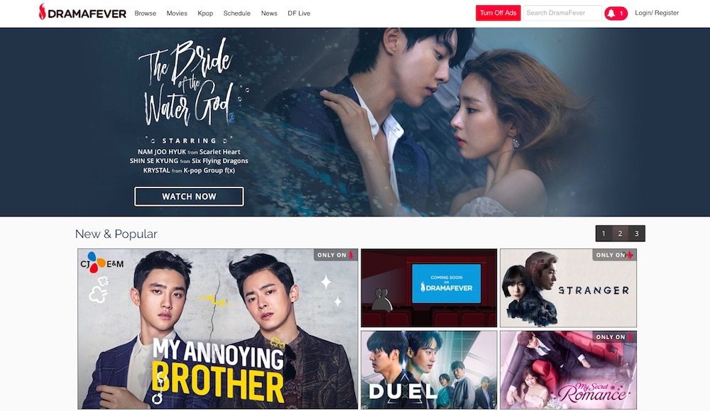 Best alternate legal streaming services: DramaFever