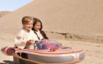 The Star Wars ride-on that will blow up kids' holiday wish lists. Parents…get ready.