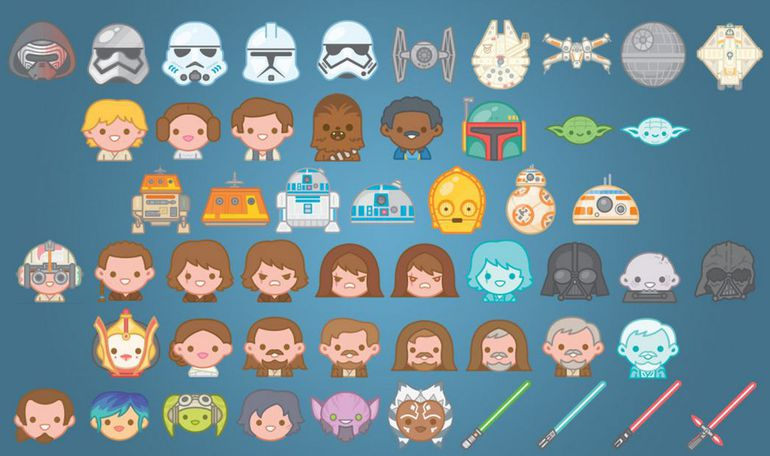 Star Wars emojis are available via the official Star Wars app...with one little hack | coolmomtech.com