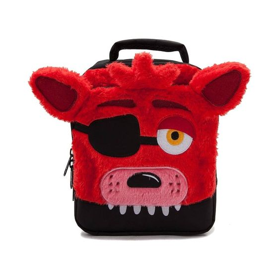 cool gamer school supplies | Five Nights at Freddys Foxy Lunchbox | back to school shopping 2017