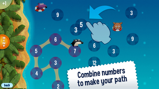 Best math apps for kids: Jump Numbers