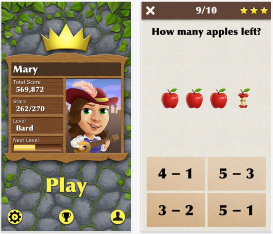 Best math apps for kids: King of Math Jr.