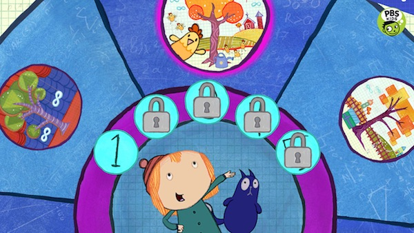 Best math apps for kids: Peg + Cat's Tree Problem