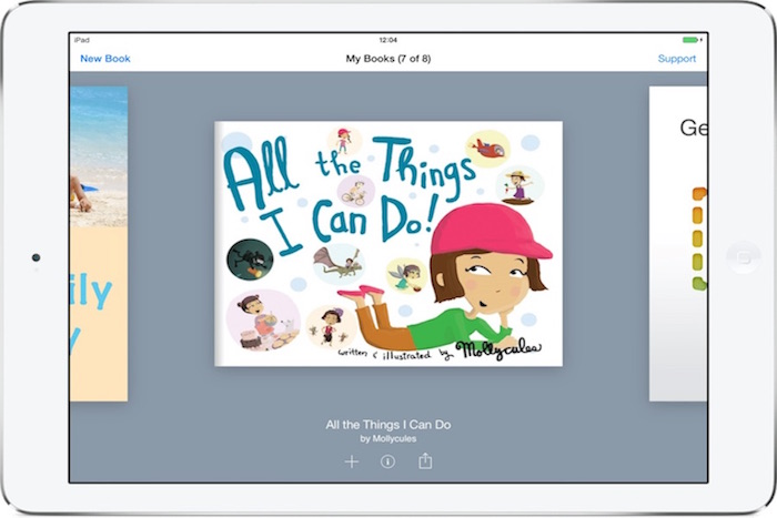 Best reading apps for kids: Book Creator