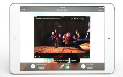 How to disable an iPad touchscreen using Guided Access: A huge lifesaver for parents