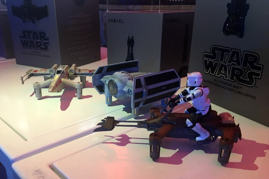 New Star Wars collector's edition drones