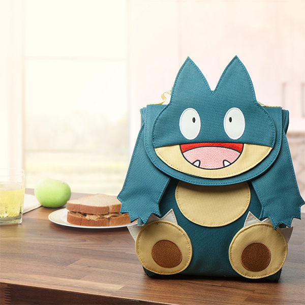 Pokemon Munchlax lunch bag | cool back to school gamer gear | coolmomtech.com