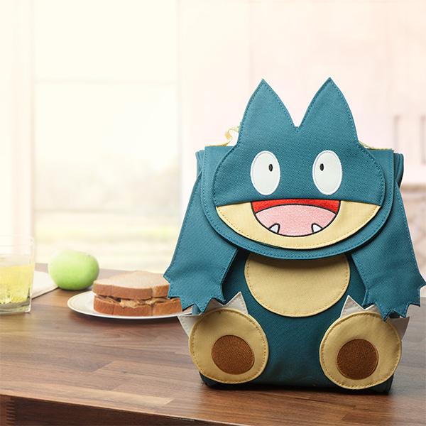 Pokemon Munchlax lunch bag | cool back to school gamer gear | coolmomtech.com