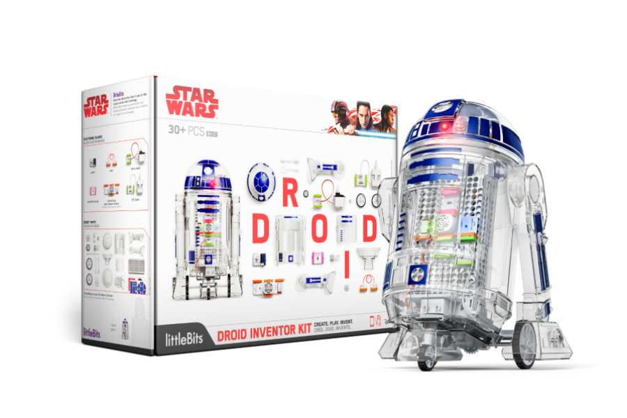 We can't wait for this build-your-own Star Wars droid kit from littleBits!