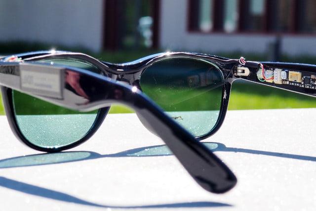 Sunglasses that generate energy