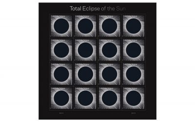 You won't believe what these Total Eclipse of the Sun stamps can do.