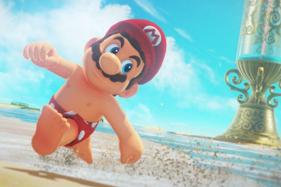 Web coolness: Shirtless Mario, spectacular photos from Cassini, and heartwarming Instagram stories