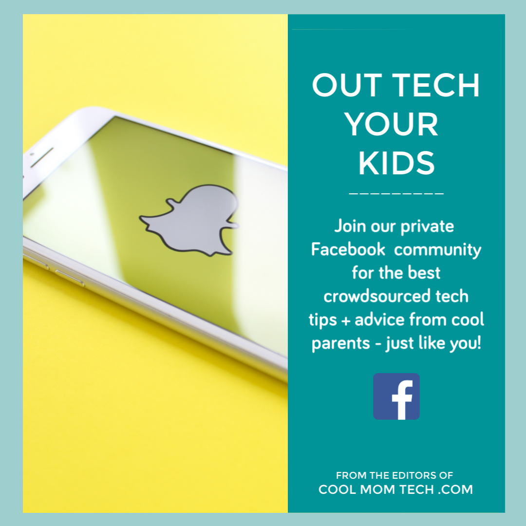 Out Tech Your Kids: The private Facebook group for Cool Mom Picks readers