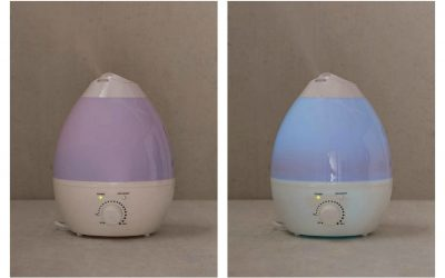 Can you sleep with all the colors of this humidifier?