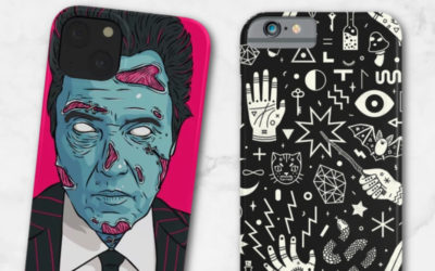 Fun Halloween iPhone cases that we'd dress our phones in all year long.