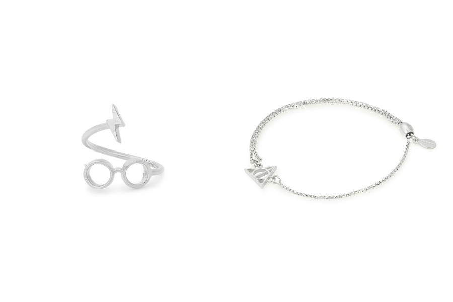 The new Harry Potter jewelry line from Alex and Ani: Accio bangles!