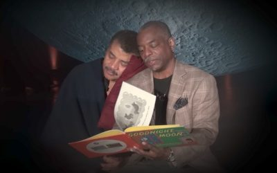 Watch Levar Burton read Goodnight Moon to Neil Degrasse Tyson and swoon a little.
