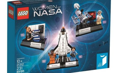 Web coolness: Women of NASA come to LEGO, why Tinder is good for families, the best parenting podcasts