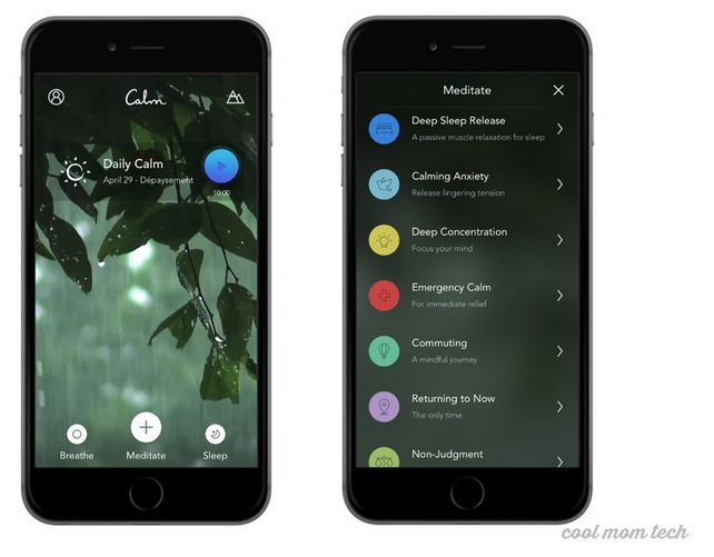 Calm App makes a great digital subscription gift