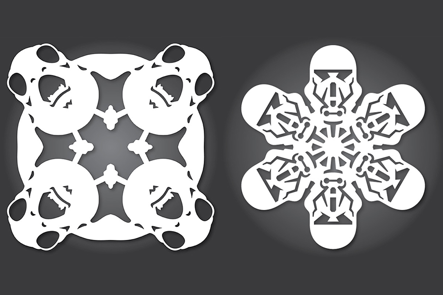 Web coolness: Star Wars snowflakes, a super blue blood moon is coming, and more!