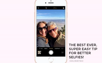 The best ever, super simple trick for taking better selfies