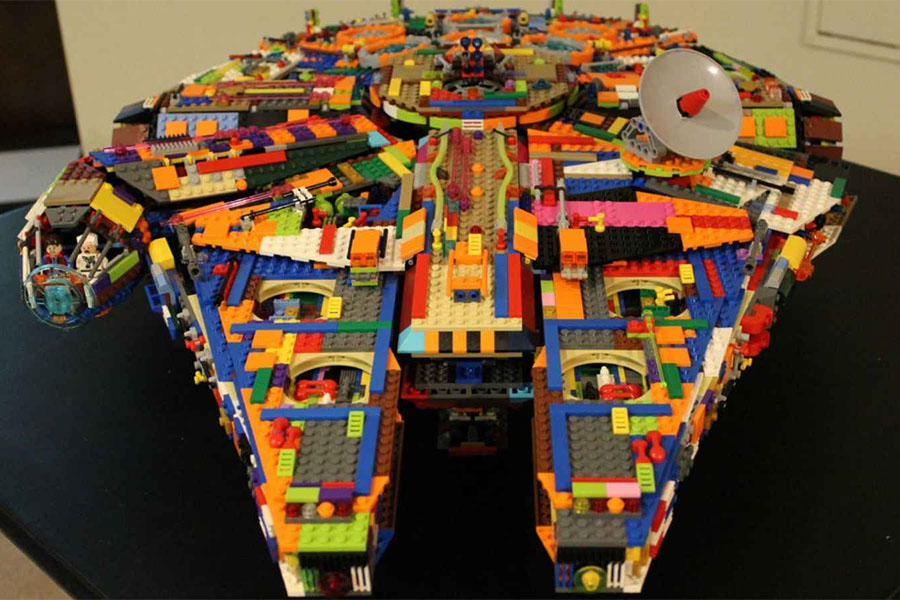 Web coolness: A colorful Millennium Falcon, fitness tracker security risks, making fun of teen's texting, and more!
