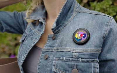 BEAM Authentic lets you broadcast your cause, right on your jacket.